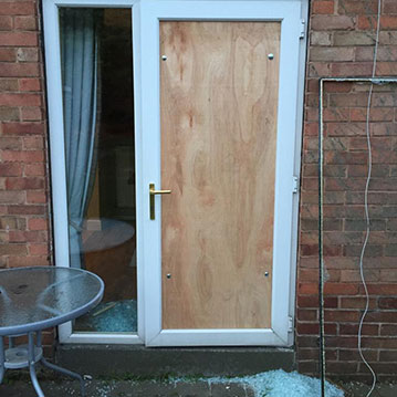 boarding up doors Doncaster