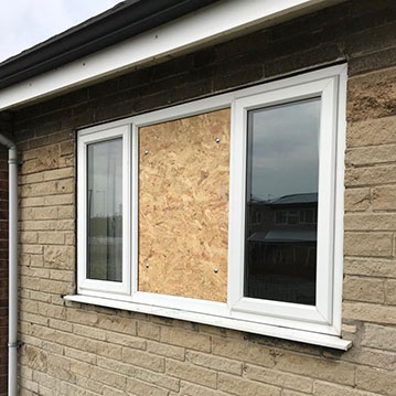 boarding up windows Doncaster